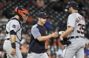 Justin Verlander after loss: 'It starts and ends with me'