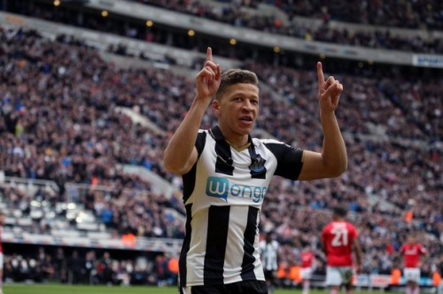 Dwight Gayle picks up yet another award after Newcastle United striker's prolific campaign