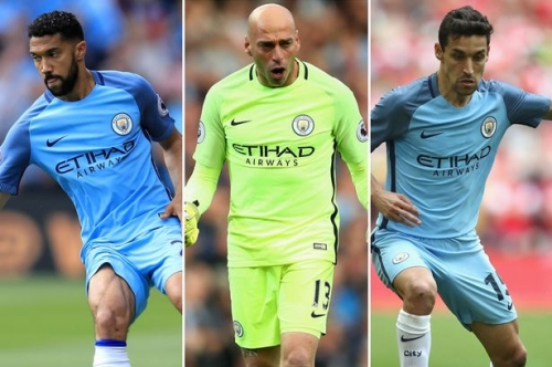 The Manchester City players available on a free - and whether they could do a job for West Brom