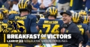 """Jim Harbaugh on Michigan QB competition: """"Throw the balls out there"""", baseball knocked out of Big Ten tourney, and more"""