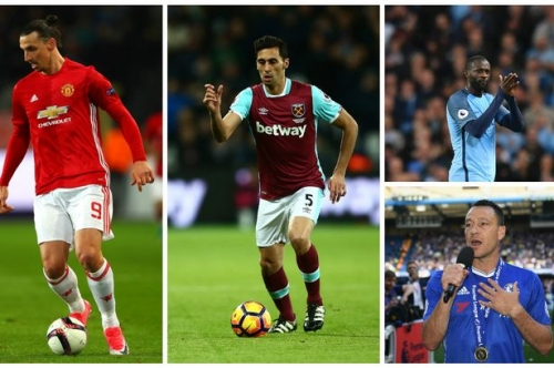 Which Premier League players are out of contract this summer?