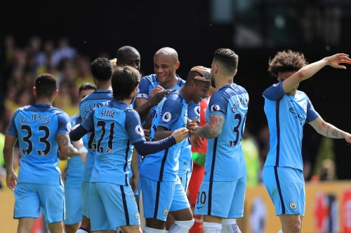 How much progress did Manchester City make this season?
