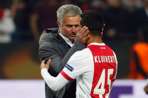 What Manchester United manager Jose Mourinho 'told' Justin Kluivert