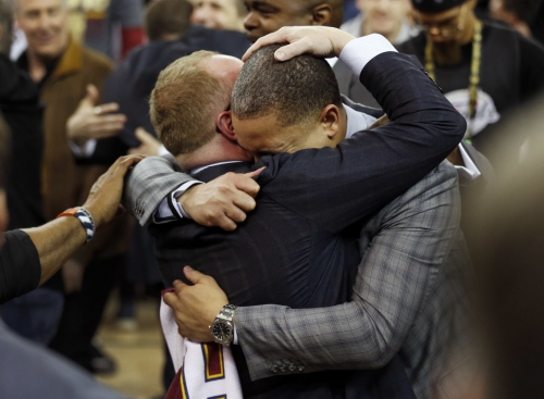 Cavaliers GM David Griffin: 'I hope everybody says we have no chance' in NBA Finals