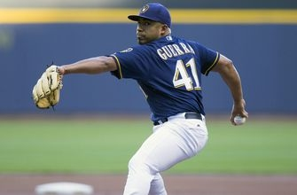 Top 5 career outings for Brewers' Guerra