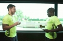 WATCH: Chelsea and Arsenal play Heads Up