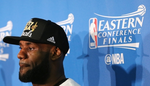 LeBron James Underdog: Cleveland Cavaliers Vs. Golden State Warriors Series Could Cement Legacy For King James