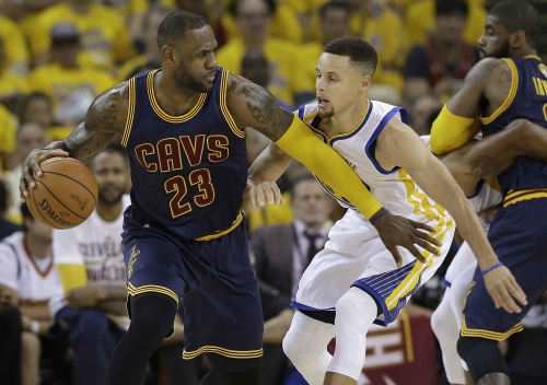 Underdog Cleveland Cavaliers insist they have plenty of bite for NBA Finals