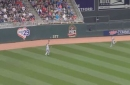 WATCH: Colby Rasmus ranges to his left to make a great catch
