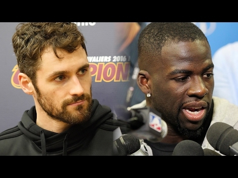 What can Kevin Love do about Draymond Green's intentions to 'destroy,' 'annihilate' Cavaliers?