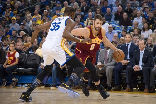 "Kevin Love on Cavs-Warriors: ""I don't feel like we're underdogs."""