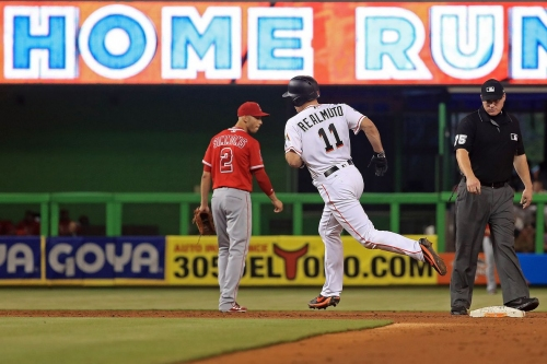 Why I'm a fan of the Angels when they lose 8-5 to the ******* Miami Marlins