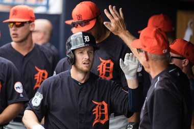 Tigers lineup: Alex Presley starting in center field