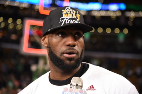 LeBron undaunted by challenge of facing Warriors in Finals The Associated Press