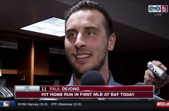 Paul DeJong says 'it's been a crazy 24 hours' after homering in MLB debut
