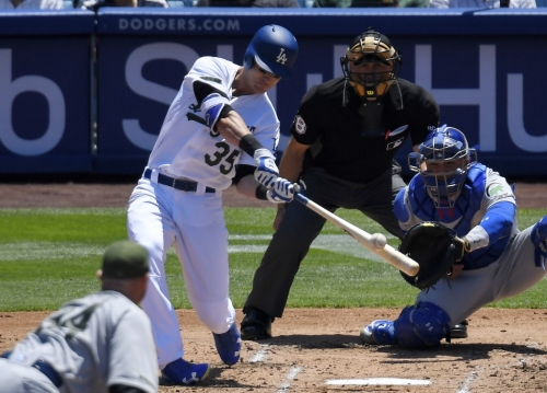 Dodgers hit four home runs, complete sweep of Chicago Cubs