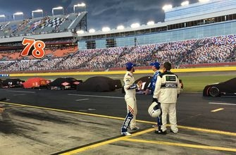Coca-Cola 600 in Charlotte red-flagged for lightning, rain delay