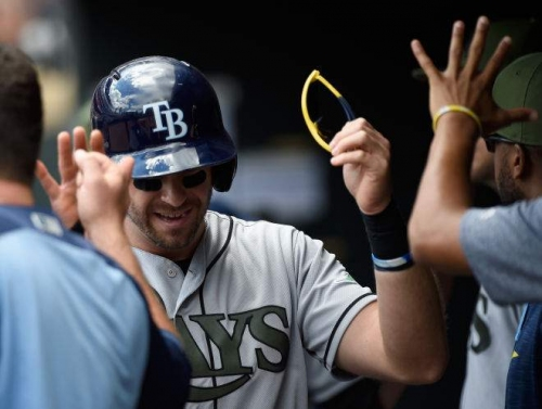 Rays blow lead, rally, blow lead, rally again to beat Twins in 15 (w/video)