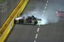 Fluid On Track Causes Issues at Charlotte   2017 CHARLOTTE   FOX NASCAR