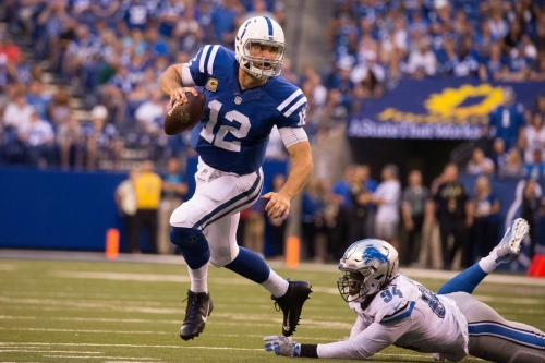 Andrew Luck's game vs. Lions graded as best QB performance of 2016 season by PFF