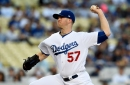 Dodgers pitcher Alex Wood goes to DL with minor shoulder issue