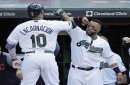 Indians flash muscle, top Oakland A's 5-3 on Memorial Day