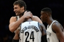 Brook Lopez is excited to help Nets grow despite trade rumors