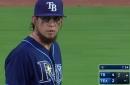 Rays 5, Rangers 9: Late-inning lightning shocks Rays