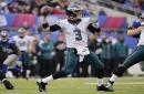 Former Jets, Eagles QB Mark Sanchez sidelined with knee injury