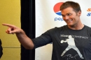 Tom Brady, Patriots teammates take part in Best Buddies Football Challenge