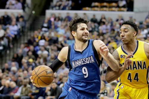 The Knicks' front office is still debating trading for Ricky Rubio, re-signing Derrick Rose