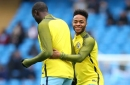 Man City star Raheem Sterling reacts to Yaya Toure contract news