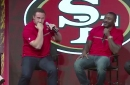 Joe Staley talks about punching NaVorro Bowman in the face