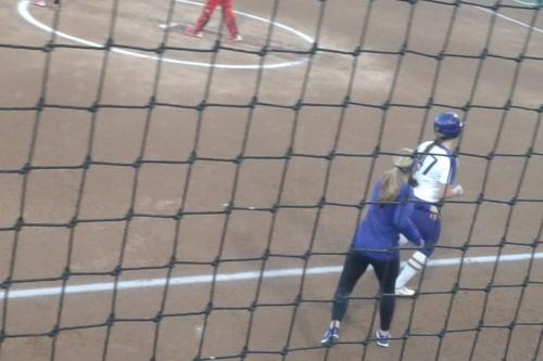 Backs against the wall: Husky softball battles UCLA in elimination game (game thread)