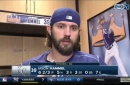 Jason Hammel says Saturday's win was 'a step in the right direction'