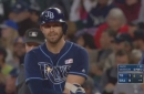 WATCH: Evan Longoria collects 3 of Rays' 6 hits