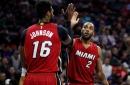 Report: Heat hope to keep Johnson, Waiters
