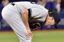 Yankees settle for series split as Severino's great day gets wasted