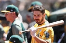 Matt Joyce is finally hitting like he was supposed to for the Oakland A's