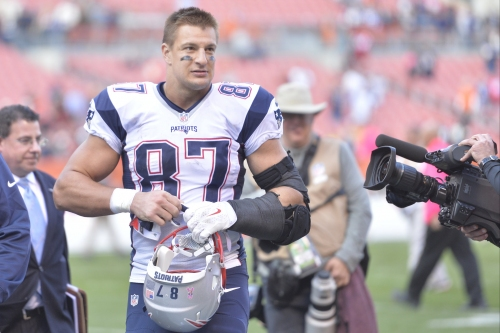 New England Patriots TE Rob Gronkowski: 'I'm happy to be where I am' after back surgery