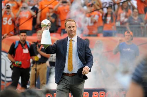 "Peyton Manning named Riddell's first ""strategic advisor and brand ambassador"""