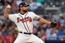 R.A. Dickey, Braves look for series split against Phillies