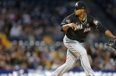 Volquez continues scoreless streak as Marlins cruise to a victory