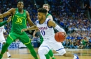 NBA Draft prospect Frank Mason appears to be working out for Atlanta Hawks