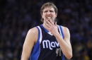 Dirk Nowitzki responds to 'issue' in NBA LIVE game