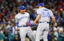 Homers and Pitching, Jays Beat Maringers