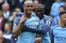 Vincent Kompany beats Sergio Aguero to Man City award and calls it a 'good joke'