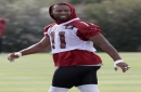 Cardinals WR Fitzgerald wins Good Guy Award from writers The Associated Press