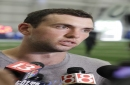 Luck eager to start throwing as offseason rehab continues The Associated Press