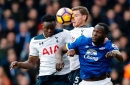 When will Everton play Tottenham Hotspur in the 2017/18 Premier League season?